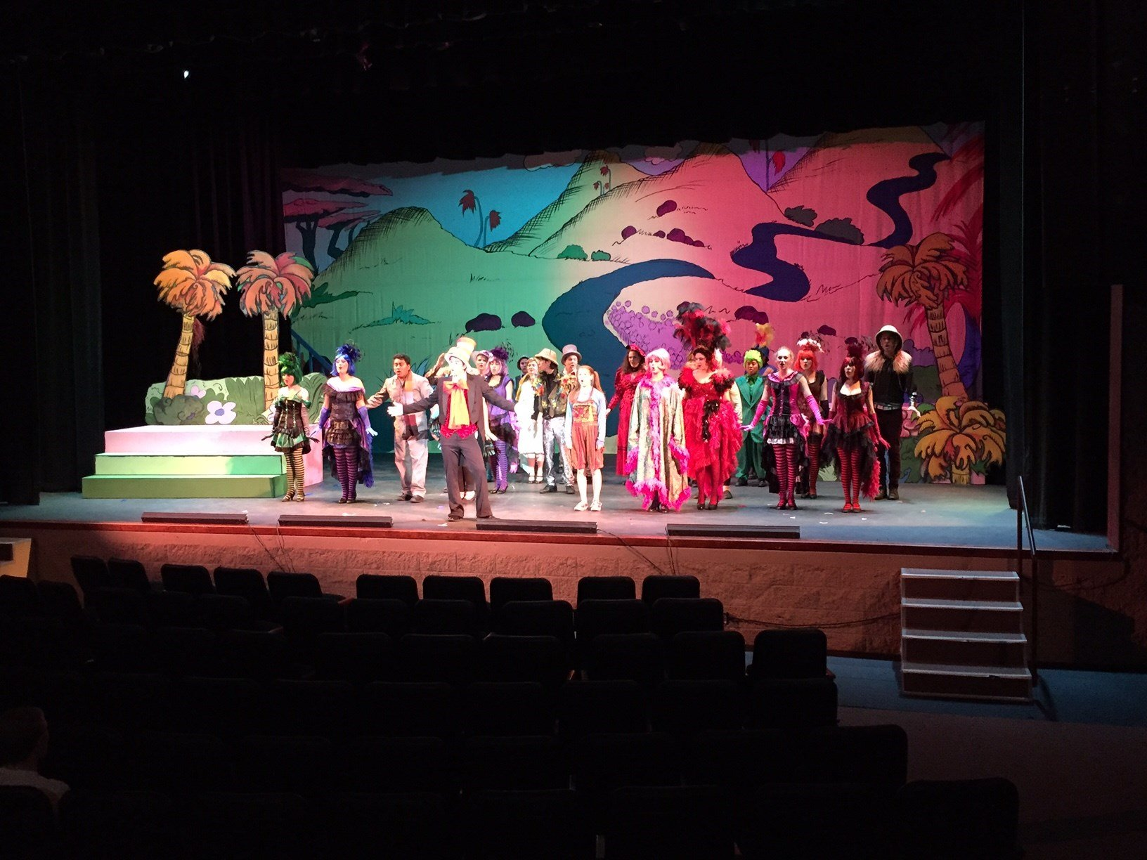 """Arroyo Grande High School students rehearse """"Seussical."""" (KSBY)"""