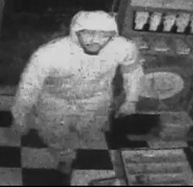 Liquor store burglar