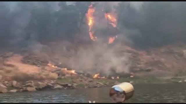 Blue Cut fire 73% contained