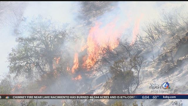 Chimney Fire now 75 percent contained