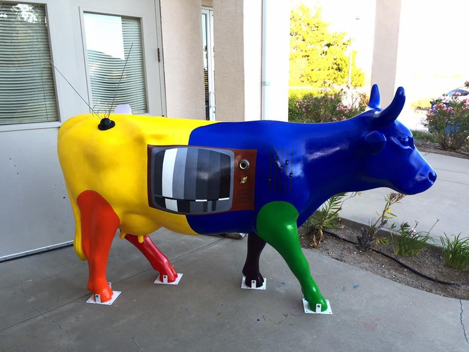 "KSBY's ""Media Moo"" by Labri Ferreira"