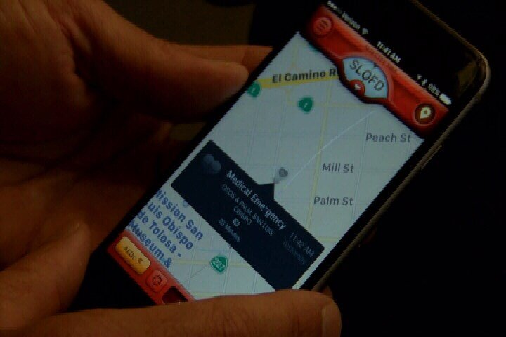 The PulsePoint app is meant for bystanders to quickly get involved if someone is in cardiac arrest. (KSBY)