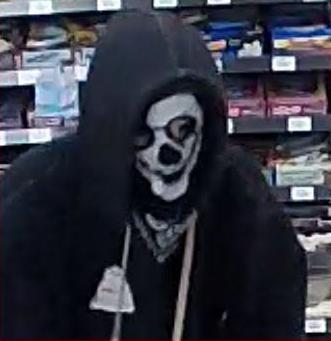Surveillance photos of Chevron gas station robbery provided by San Luis Obispo Co. Sheriff's Office