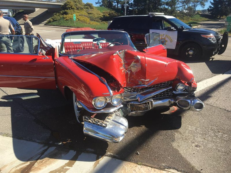 Orcutt California Car Crash