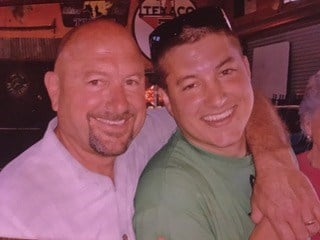 A photo of Andrew Holland, right, provided to KSBY by his family.