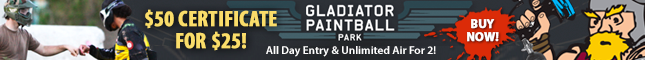 Gladiator Paintball Park Deal