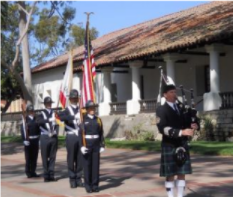 A photo from a previous Peace Officers' Memorial Service in Mission Plaza. (Photo: City of SLO)