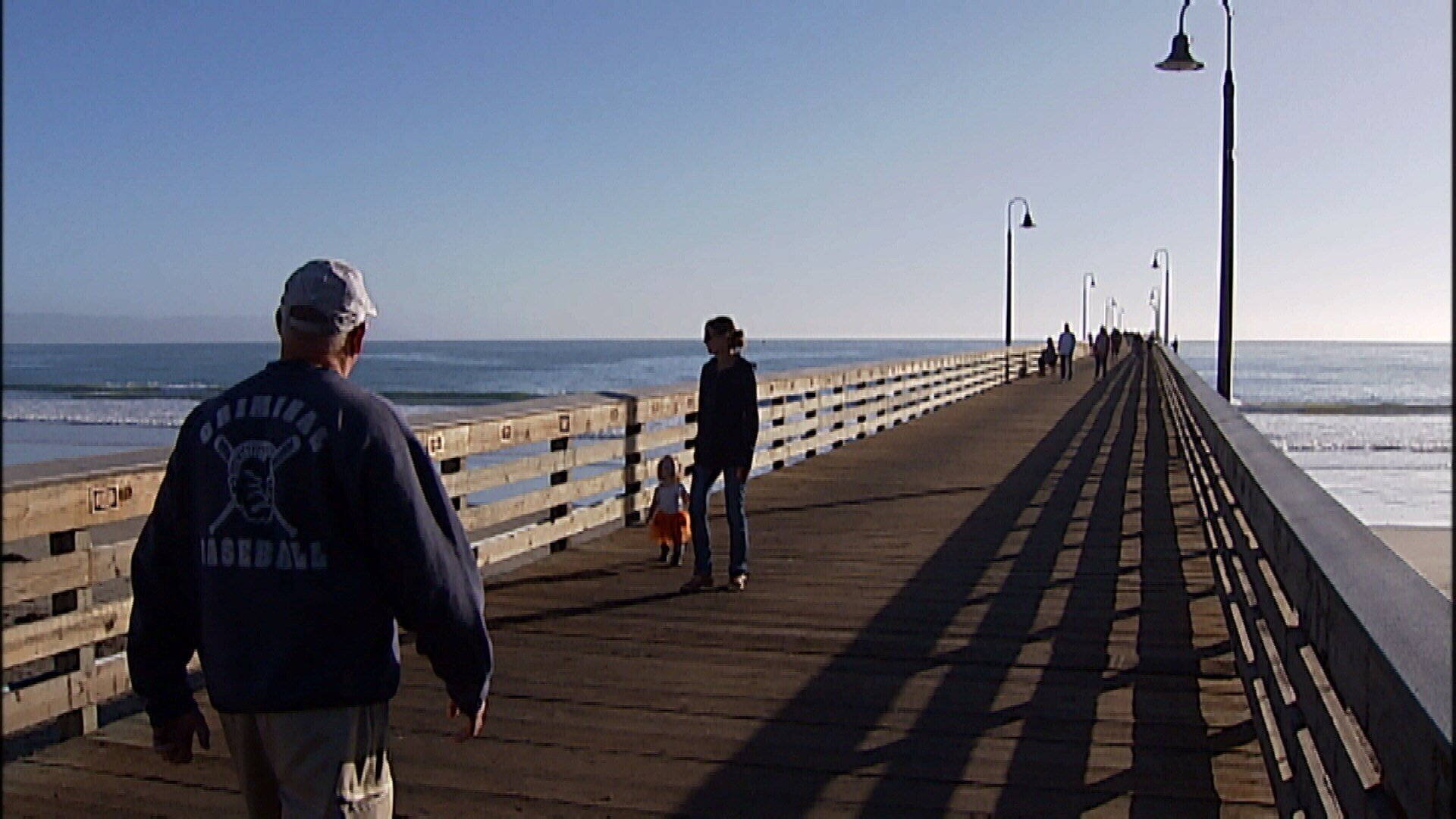 Cayucos Pier (KSBY photo)