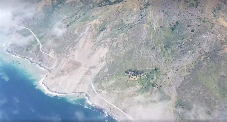 New California Mudslide Is Enormous