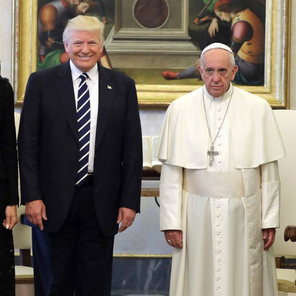 President Trump Met Behind Closed Doors With Pope Francis