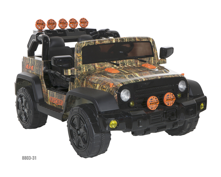 Surge 12V Camo 4X4 battery operated ride-on toy, model number 8803-31 (Photo courtesy Consumer Product Safety Commission)
