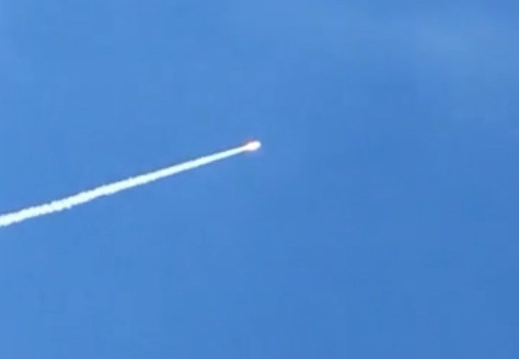U.S. launches 1st missile-intercept test