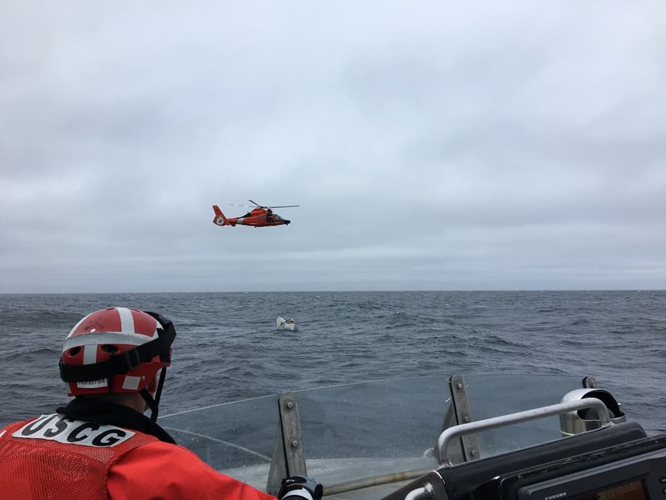 Coast Guard rescues man from disabled sailboat in Chesapeake Bay
