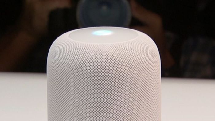 Apple takes on Alexa and Google with HomePod