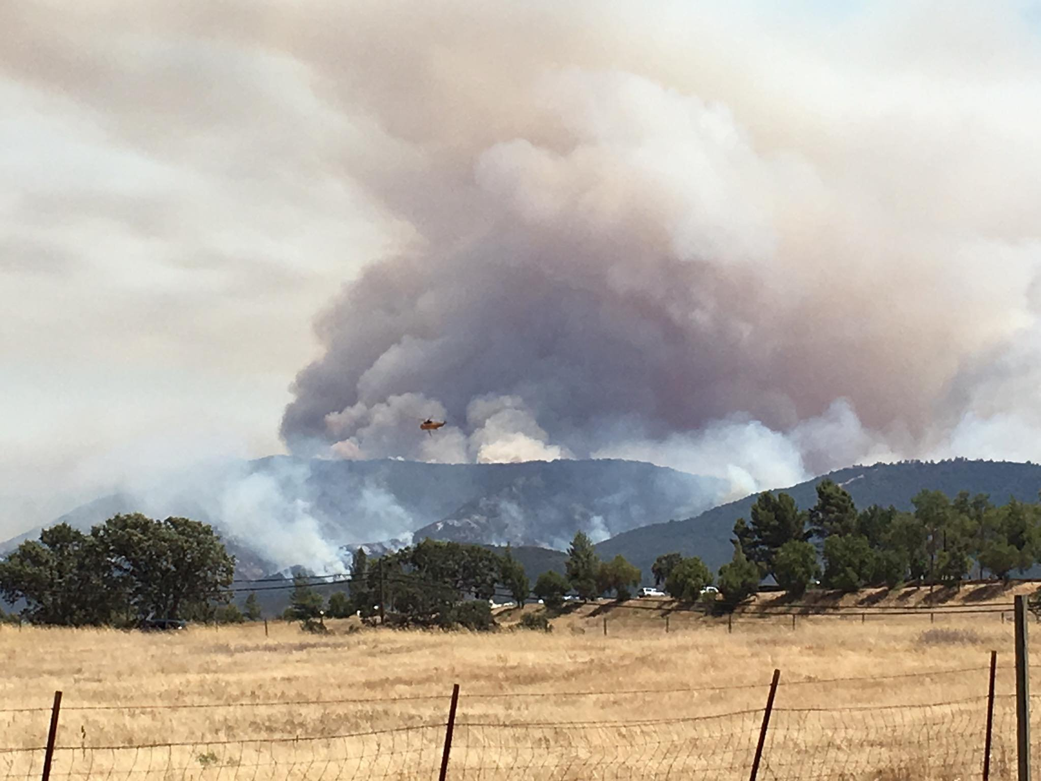 Garza Fire, burning in Kings and Fresno counties, grows to 30000 acres