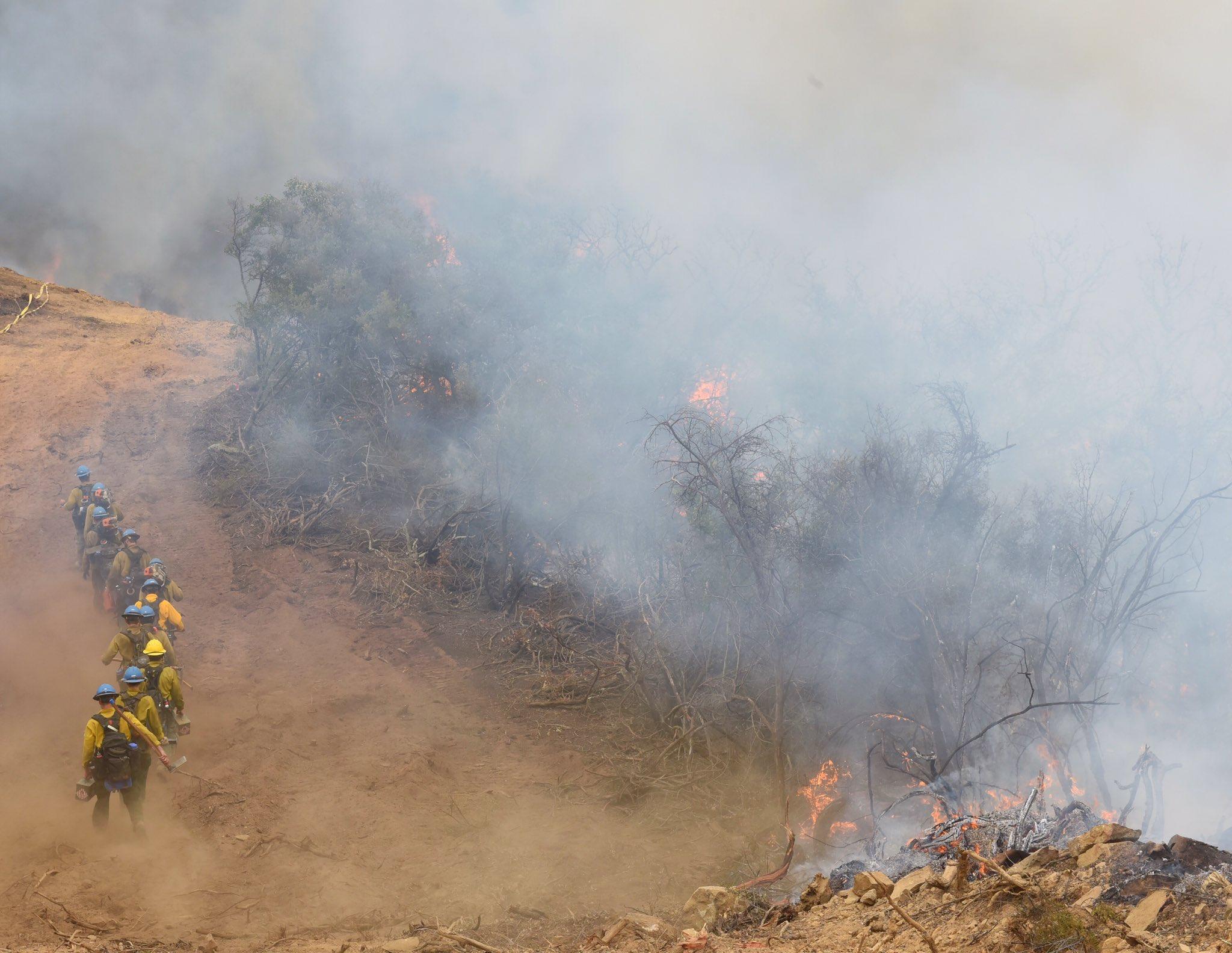(Credit: Mike Eliason, Santa Barbara County Fire public information officer)