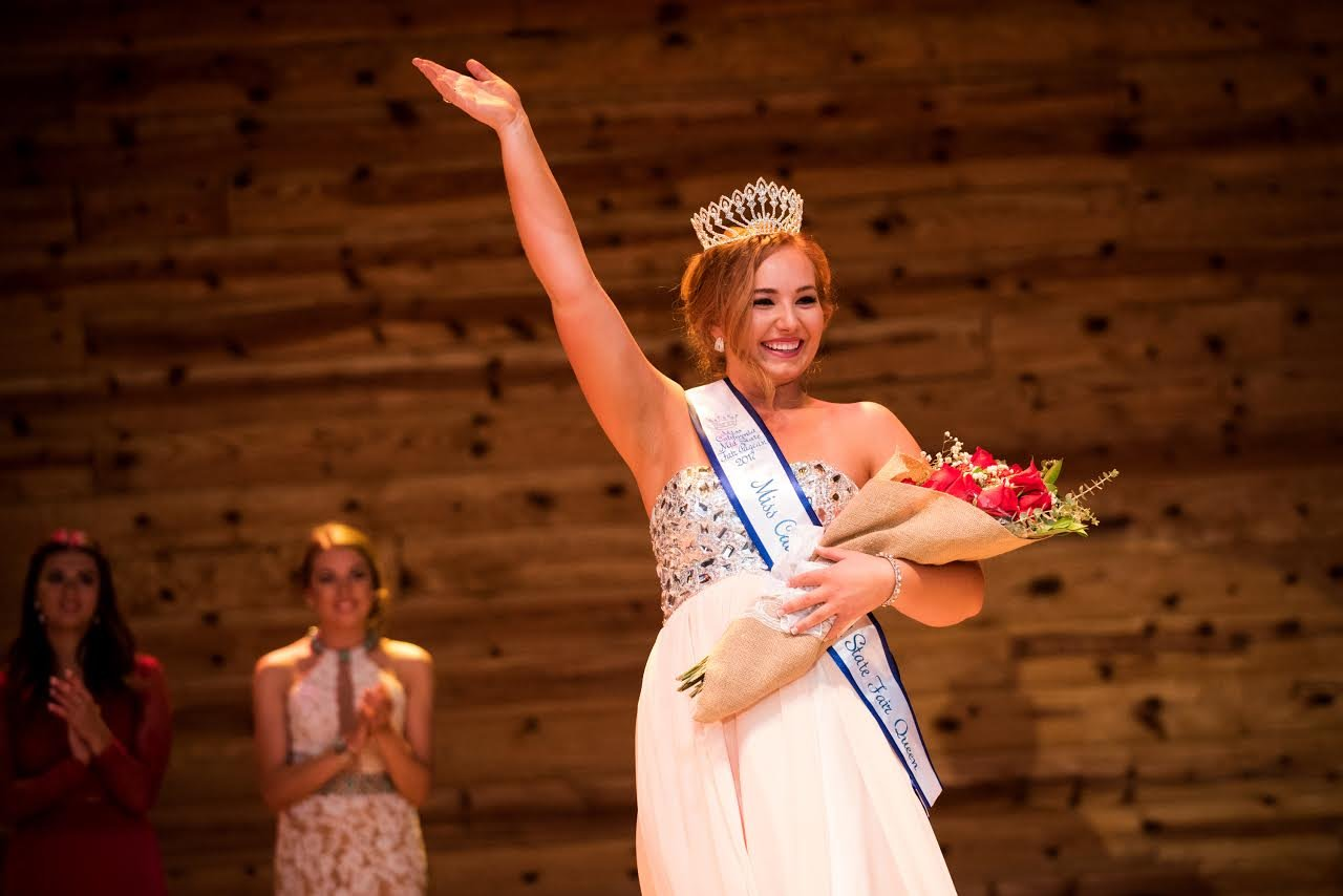 Adrianne Stultz of Atascadero is crowned the 2017 Miss California Mid-State Fair. (Courtesy: Mid-State Fair)