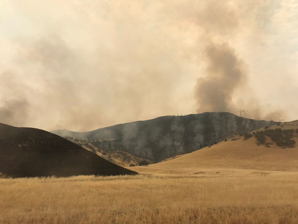 The Garza Fire (Courtesy: CAL FIRE)