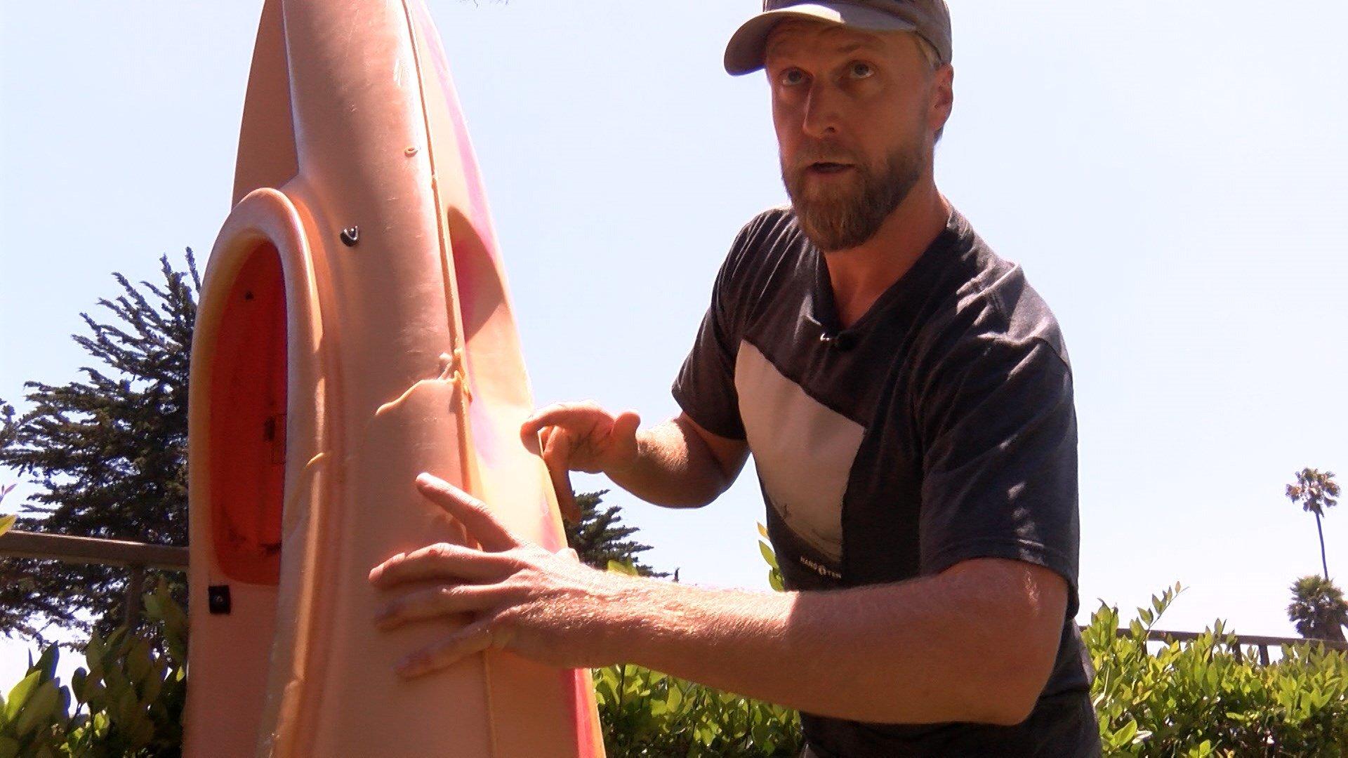 Kayaker survives shark attack in Santa Barbara