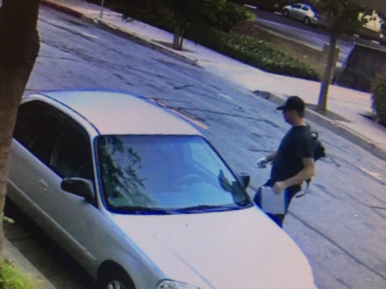 San Luis Obispo police released surveillance pictures of a man they say stole a car in the city recently. (Photo: SLOPD)