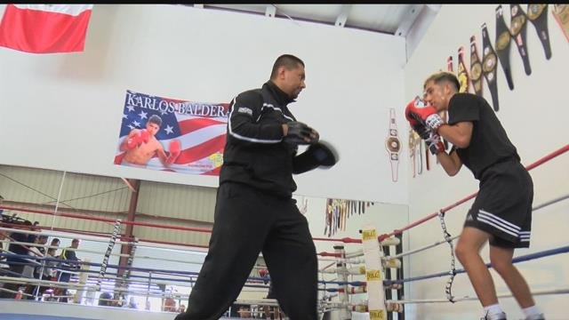 Balderas Brothers prepare for Bakersfield boxing match