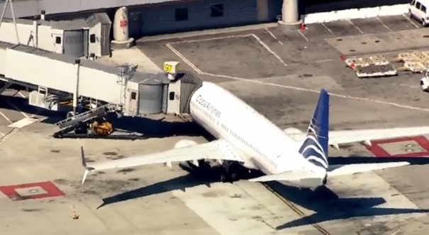 Passengers say teen who jumped from plane at SFO was 'anxious, fidgety'