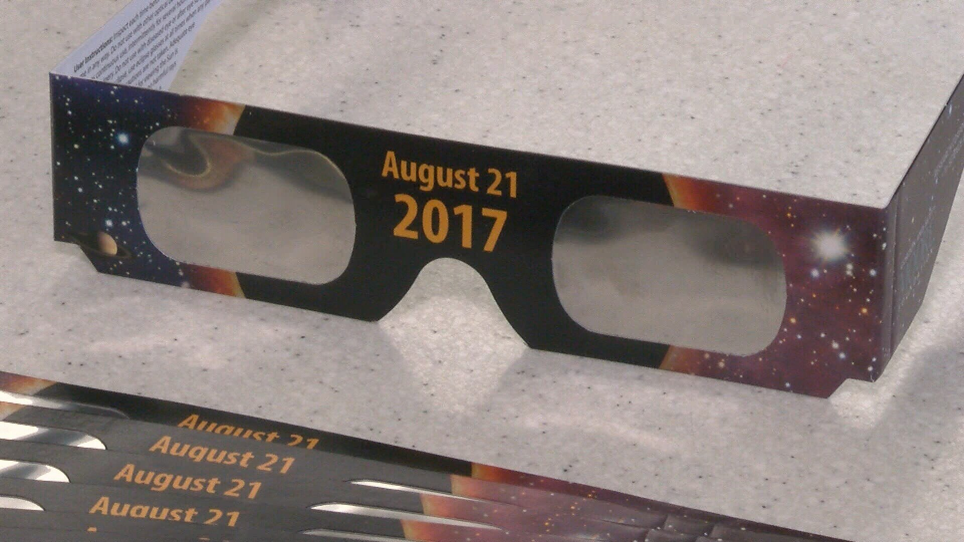 Proper eye protection needed for viewing the eclipse