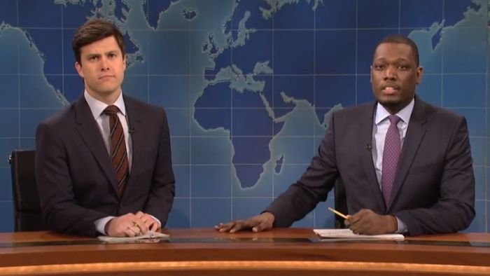 SNL stars lampoon Trump sons on Weekend Update
