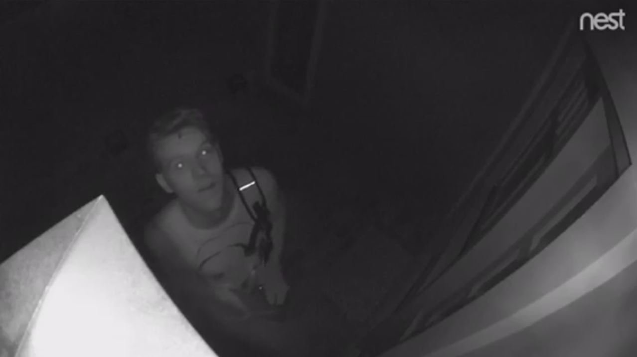 Nest surveillance image provided by the San Luis Obispo Police Department.