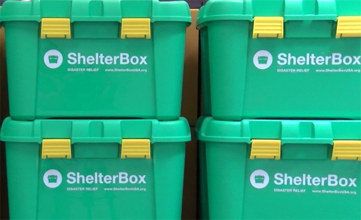 ShelterBox USA works to relieve victims following a disaster. (KSBY Photo)