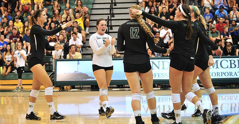 Cal Poly Volleyball Improves to 4-0 After Sweep of Seattle