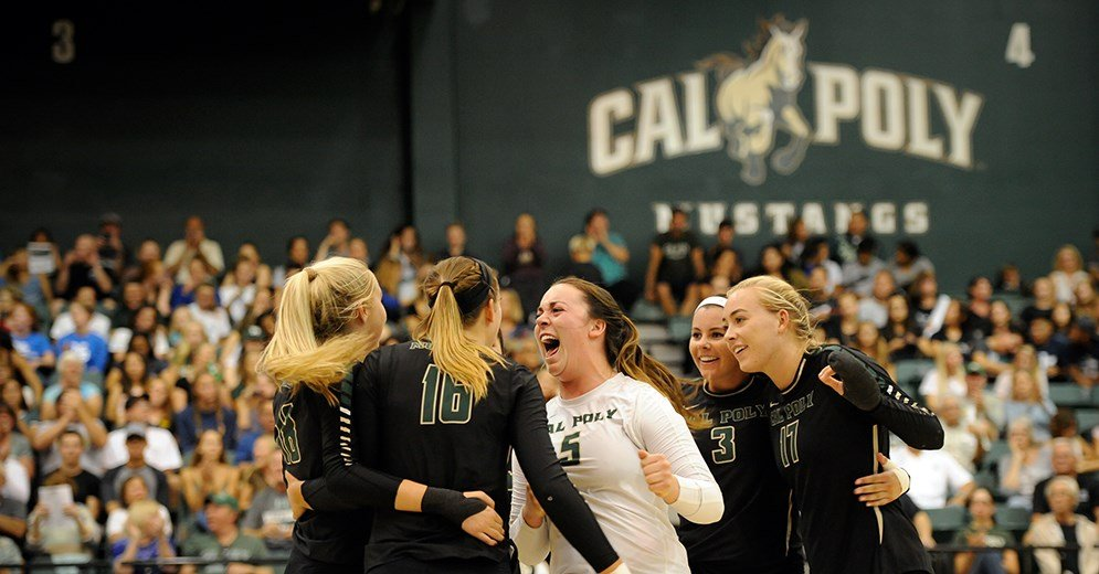 Cal Poly volleyball battles Wichita State