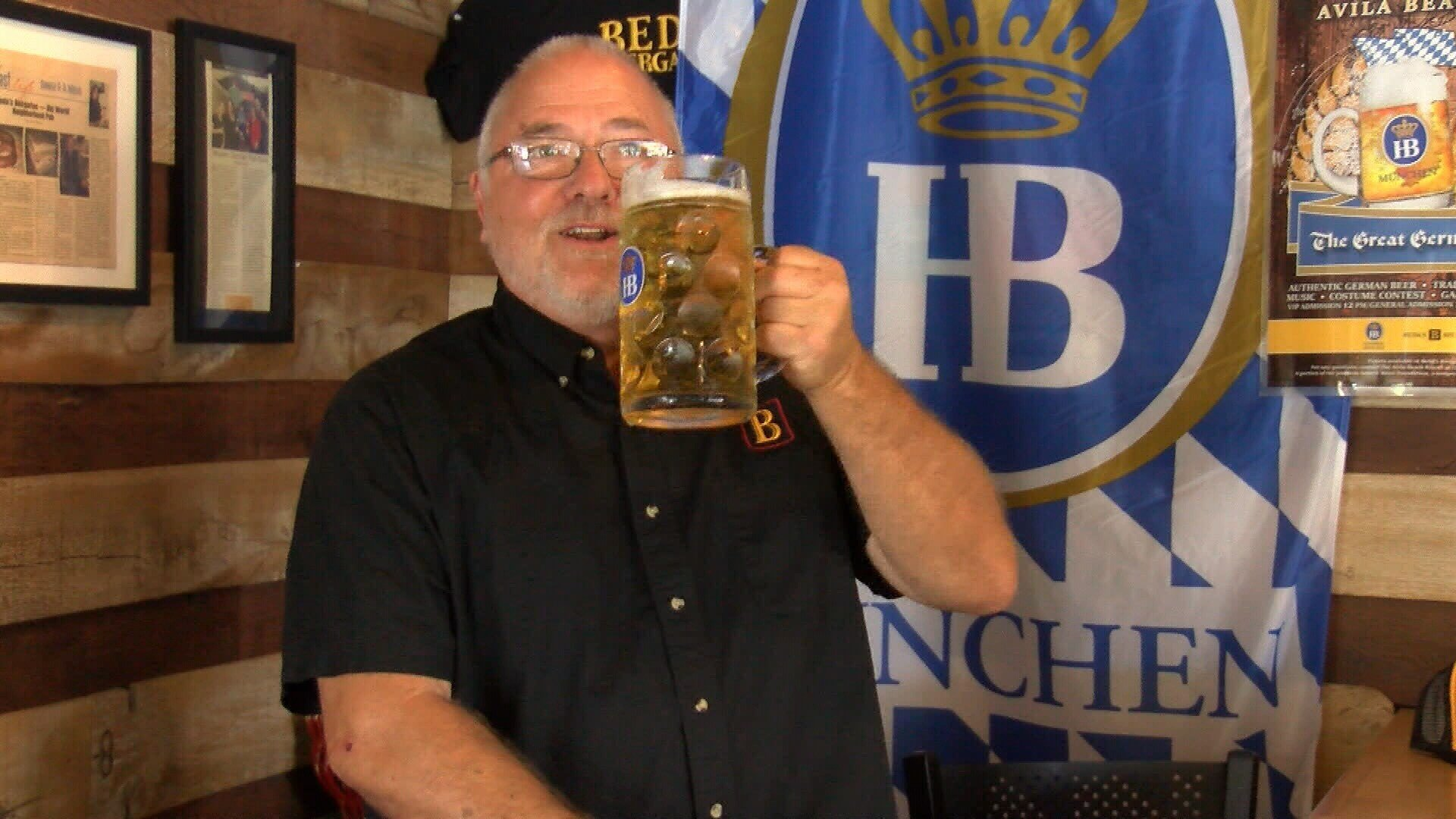Beda Schmidthues, owner of Beda's Biergarten, shares his German meatball recipe to kick off Oktoberfest!
