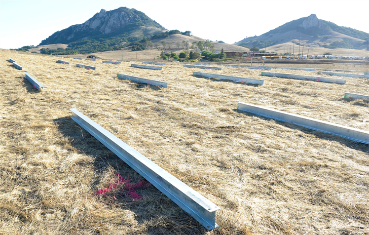 The site of a new solar farm at Cal Poly. (Photo: Cal Poly)