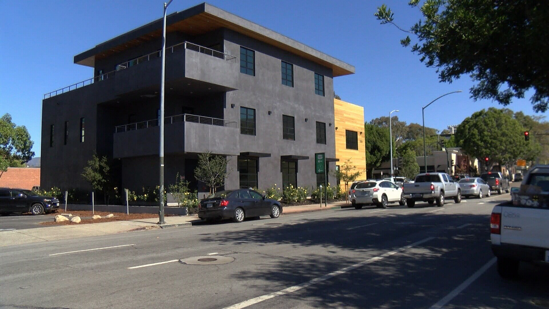 Stalwork Inc. was the construction company responsible for painting the building. (KSBY photo)