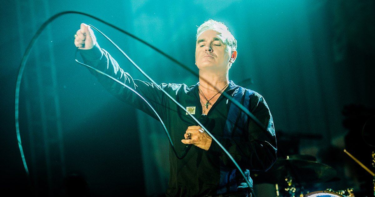 Morrissey (Photo courtesy Vina Robles Amphitheatre)