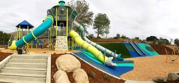 Sinsheimer Park Playground (Courtesy San Luis Obispo Dept. of Parks & Recreation)