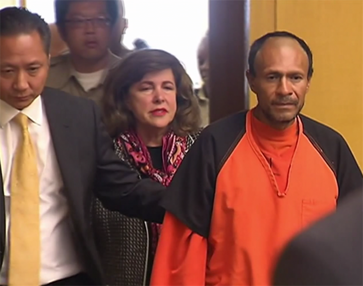 Undocumented immigrant acquitted of Kathryn Steinle's murder