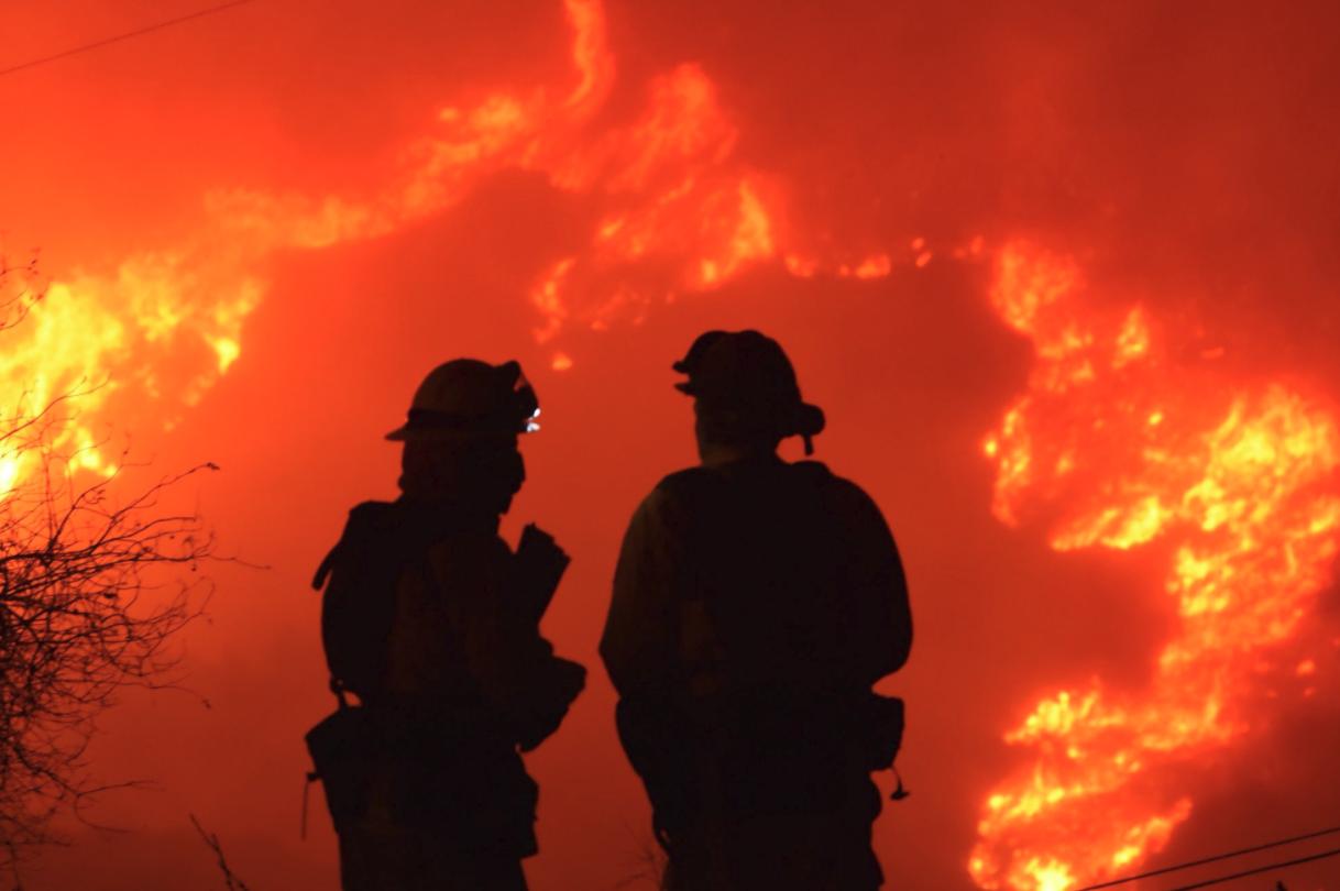 Photo courtesy: Mike Eliason, Santa Barbara County Fire