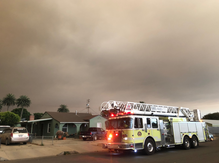 Photo courtesy: Santa Maria Fire