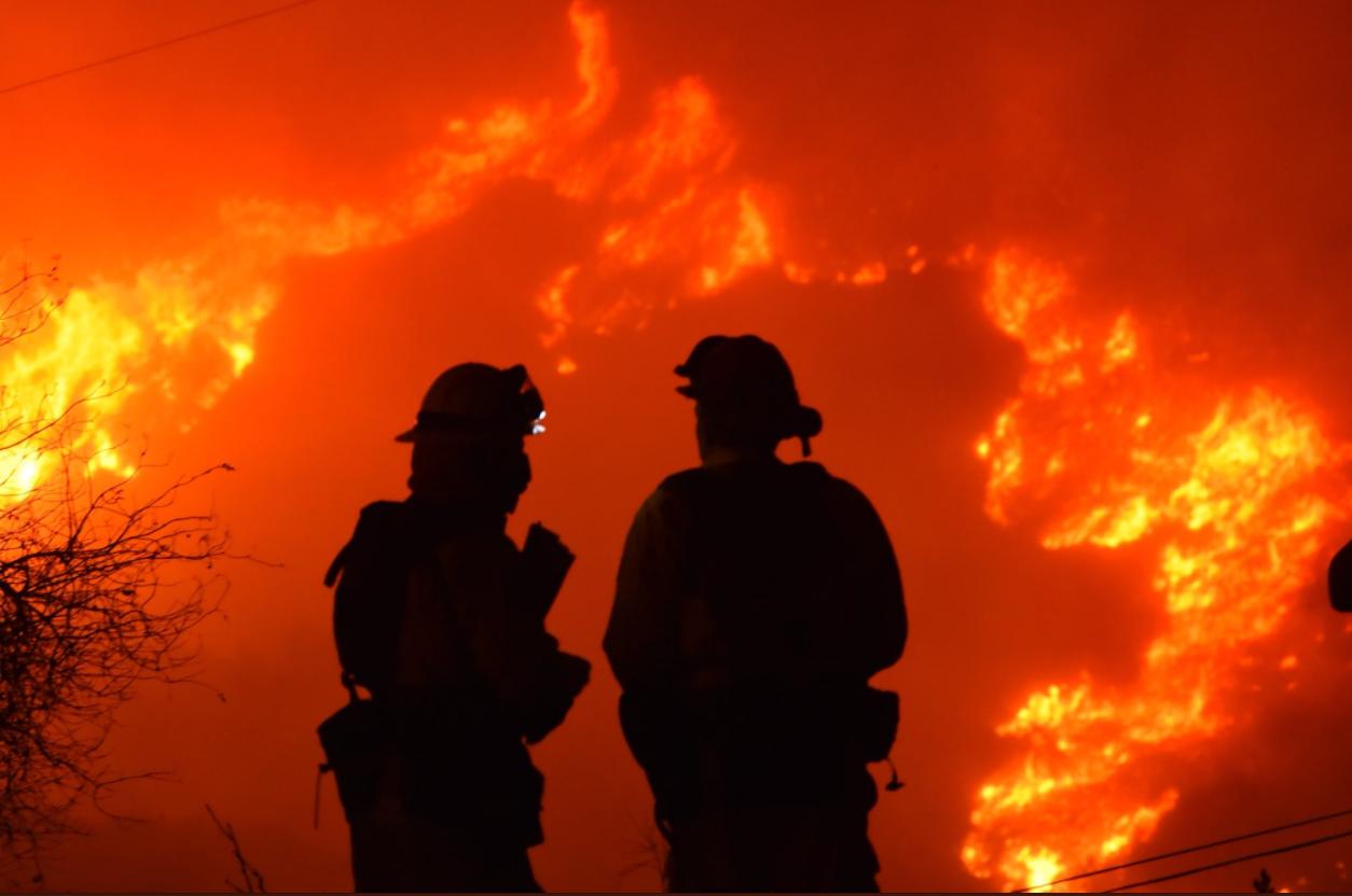 Courtesy: SB County Fire - Mike Eliason