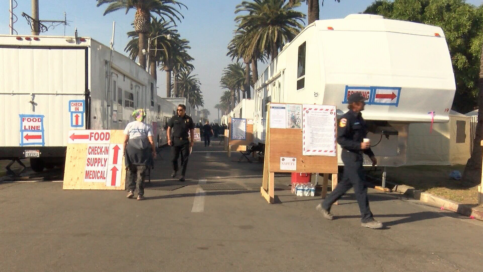 Thousands of firefighters are working away from their homes as the holidays approach. (KSBY photo)