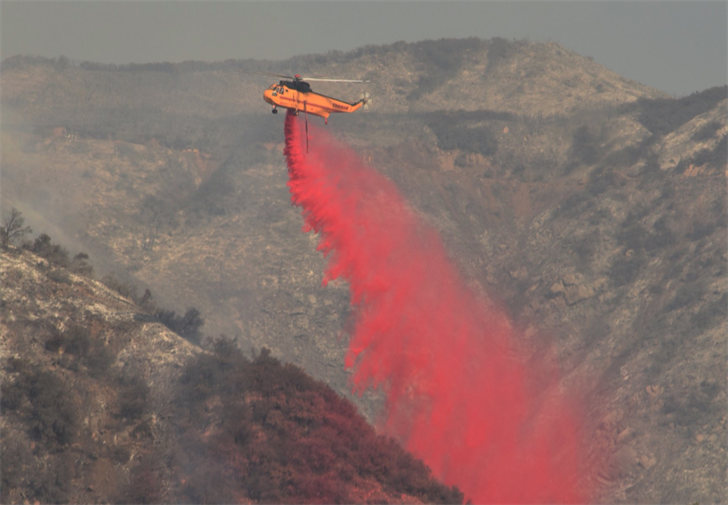 Photo courtesy: Mike Eliason, Santa Barbara County FIre