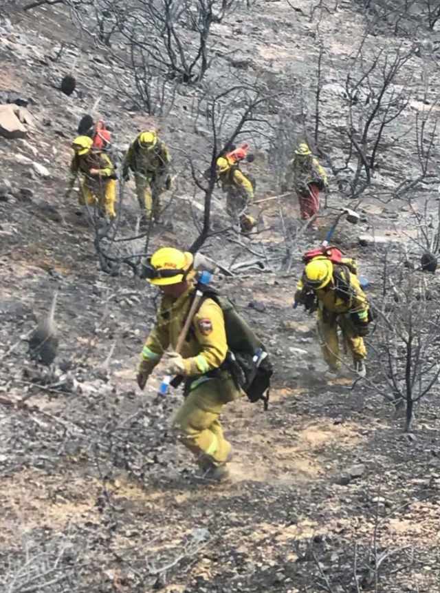 (Credit: CAL FIRE via twitter @CAL_FIRE)
