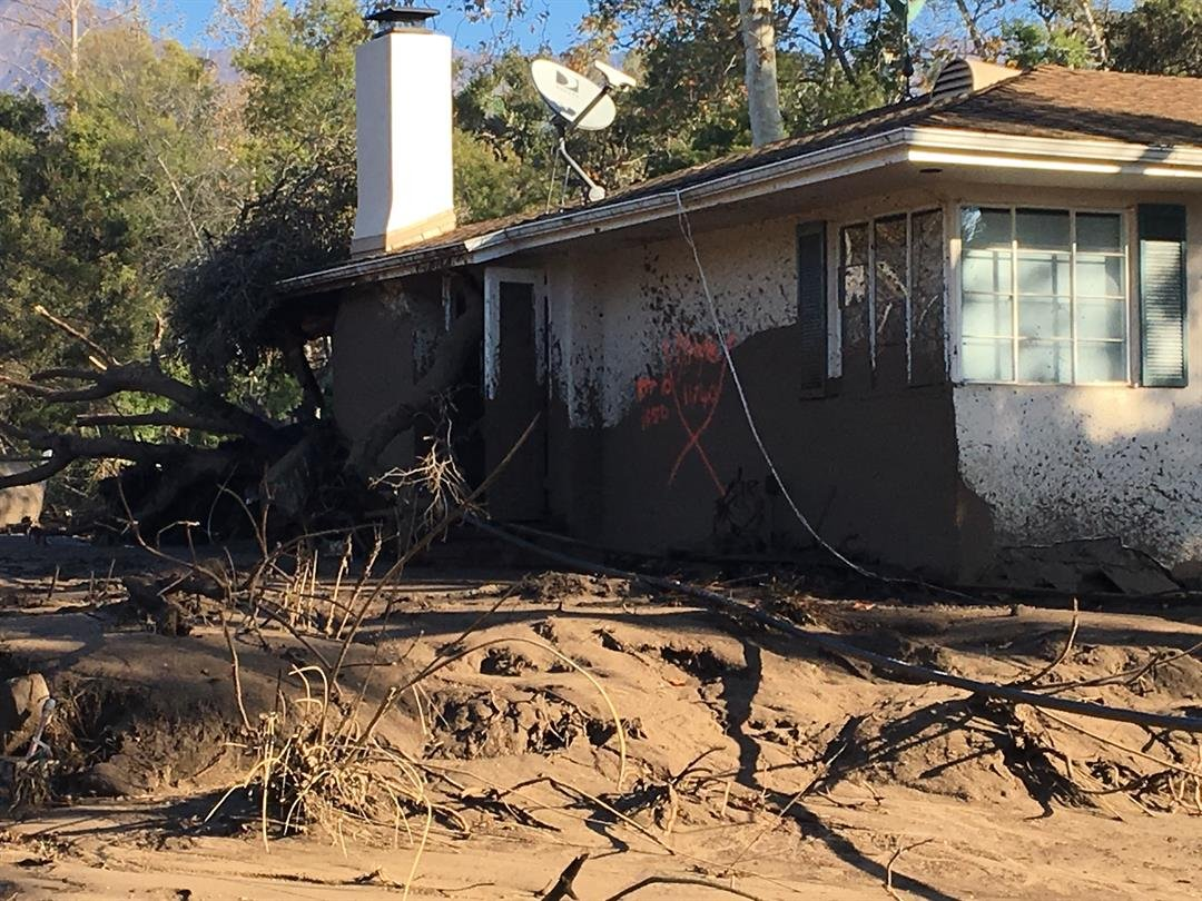 Man Films Dramatic Moment Flash Flood Hits His Montecito Home