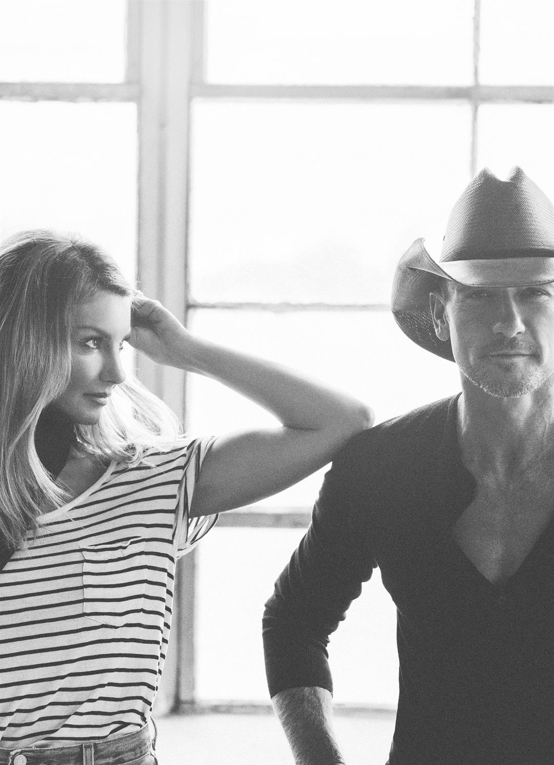 Faith Hill and Tim McGraw (Photo courtesy California Mid-State Fair)