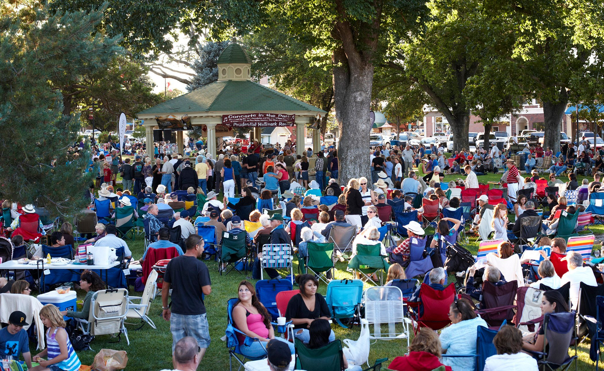 Summer Concerts in the Park (Photo courtesy City of Paso Robles)