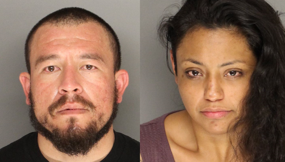 Pictured (from left to right): Aldo Almanza and Erika Krystal Garcia. (Credit: Santa Barbara County Sheriff's Office)