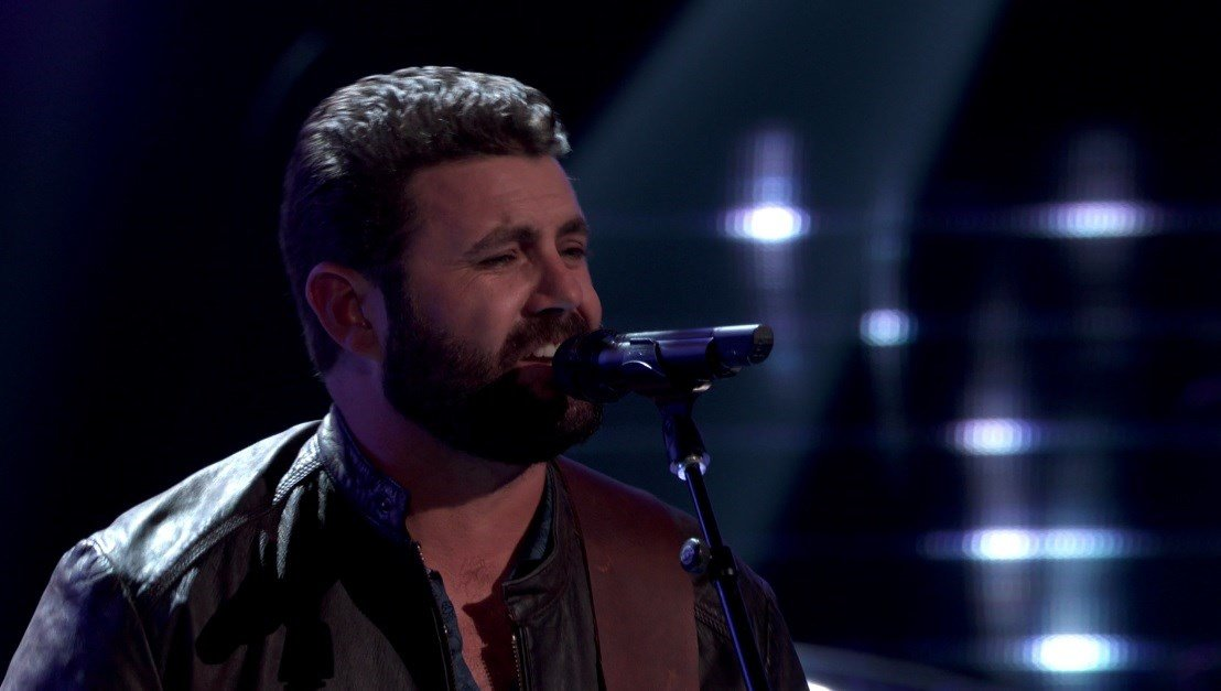 """Pryor Baird of Orcutt performs on NBC's """"The Voice""""."""