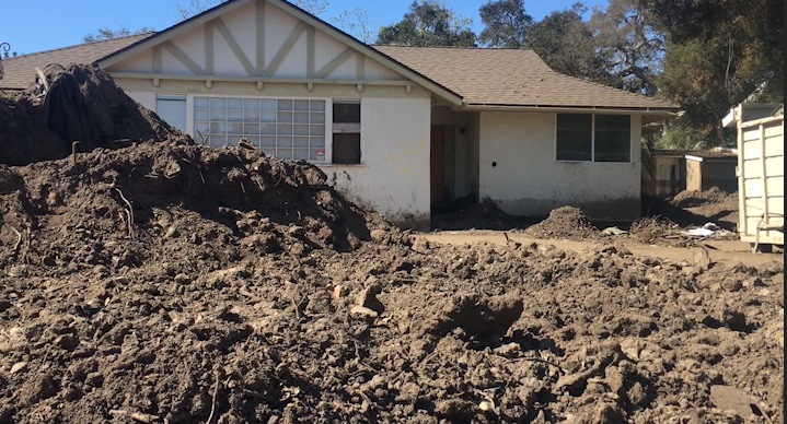 Mudslide Reported in Southern California; Thousands Under Evacuation Orders